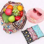 ISABELLE Sac de courses sac shopping cabas pliable en tissu Oxford de la marque LA HAUTE image 4 produit