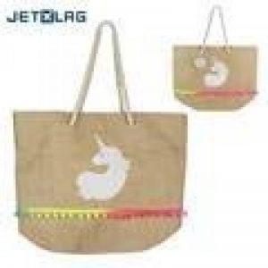 JET LAG SH1718 Sac Cabas Licorne, Papier, Blanc, 55 x 20 x 38 cm de la marque JET LAG image 0 produit