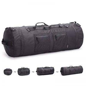 JSVER Travel sac de voyage en nylon résistant à l'eau pliable bagages flexibles pour le sport et la salle de gym avec 12 façons de transporter de la marque JSVER image 0 produit