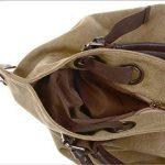 KISS GOLD (TM Tissu Sac à Main/Epaule/Bandoulière/Porté Travers Large Capacité Filles/Femmes 56x36x16cm de la marque KISS GOLD image 2 produit