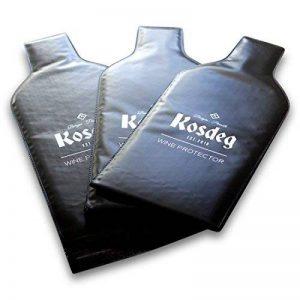 Kosdeg réutilisable protection d'une bouteille de vin, lot de 3, une bouteille de vin sac de Voyage de la marque Kosdeg image 0 produit