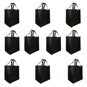 Kurtzy Sac d'épicerie - Sac à Provisions d'Epicerie - Paquet de 10 sacs de Chariot à Provisions Réutilisables - Écologique, Lavable, Pliable, Imperméable à l'eau - Poignées Renforcées Doubles de la marque Kurtzy image 0 produit