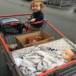 LanLan Creative Portable Hamac pour bébé pour chariot de courses de lit bébé Fournitures Hamac portable de bébé portatif pour le trolley de chariot à provisions de la marque LanLan image 1 produit