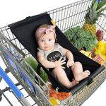 LanLan Creative Portable Hamac pour bébé pour chariot de courses de lit bébé Fournitures Hamac portable de bébé portatif pour le trolley de chariot à provisions de la marque LanLan image 2 produit