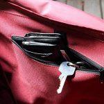Levivo Panier à Commissions refermable avec Cadre en Aluminium Pliant, Rouge de la marque Levivo image 3 produit