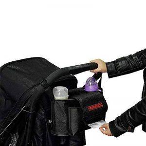 LIBEYE Sac de Rangement Pour Landau 2 en 1 Poussette Sacoche à Bandoulière Pour Maman Sac Organisateur pour Poussettes Grands Espaces pour Bébé Accessoire 32 * 17 * 15cm de la marque LIBEYE image 0 produit