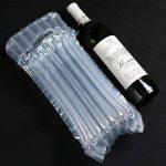 logei® 50x Sacs gonflables Sacs d'injection de gaz Sac gonflable et transfortable pour la bouteille de vin Sac anti-choc et anti-déflagrant Sac transport de vin de la marque logei image 4 produit