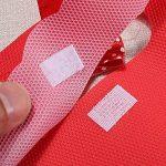 Lot de 10sacs cadeau en plastique coloré Bowknot faveurs boîte cadeau fête Noël Mariage Emballage Bijoux sac bonbons stockage sac avec fermeture Velcro Noir de la marque Wilotick image 3 produit