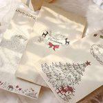 Lot De 12 sacs-cadeaux de Noël Papier kraft Pochette Noël Cadeau Sac Noël 12 x 6 x 22 cm Mariage Anniversaire Fete de la marque MARFORT image 4 produit