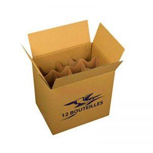 Lot de 5 cartons pour 12 bouteilles de la marque Carton Market image 0 produit
