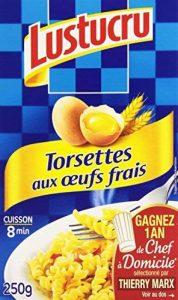 Lustucru Pâtes Torsettes aux œufs frais 250 g de la marque Dfte image 0 produit