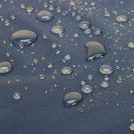 Luxja sac courses reutilisable, sac shopping pliable, sac pour courses, ECO sac, lavable, durable, léger, 3pcs, Marine de la marque Luxja image 2 produit