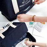 Malirona Grand sac fourre-tout à sac 2-en-1 Sac fourre-tout à la plage avec chaussures Organiseur Canvas Sac de plage de la marque Malirona image 1 produit
