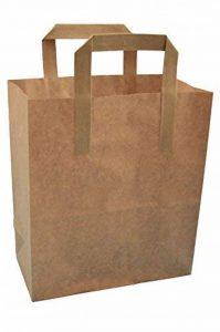 marron Kraft thepaperbagstore (TM) SOS à emporter papier Sacs de caisse - Choisissez votre taille et quantité de la marque Thepaperbagstore image 0 produit