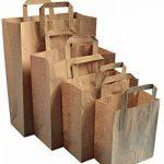 marron Kraft thepaperbagstore (TM) SOS à emporter papier Sacs de caisse - Choisissez votre taille et quantité de la marque Thepaperbagstore image 1 produit