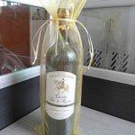 Meyfdsyf 20pcs Doré Transparent Bouteille de Vin Wrap Sac Organza Cadeau Emballage Sacs de la marque meyfdsyf image 1 produit