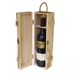 Neuf vintage en bois Bouteille de Vin Cadeau étui de rangement Boîte de support (Us139) de la marque Maison Des Cadeaux image 0 produit