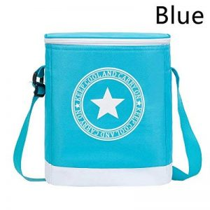 Never Ending Simple étoile Isolation Sac Cuboid étanche épaissir Bento Boxes, Blue de la marque Never Ending image 0 produit