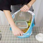 Never Ending Simple étoile Isolation Sac Cuboid étanche épaissir Bento Boxes, Blue de la marque Never Ending image 3 produit