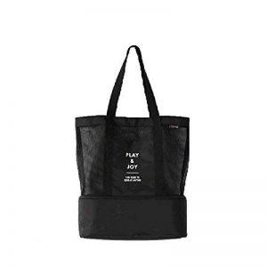 NOVAGO Cabas sac à pique-nique ou à provisions multifonctions pliable et isotherme pour le déjeuner, l'école , la plage et les course de la marque Novago image 0 produit