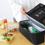 NOVAGO Cabas sac à pique-nique ou à provisions multifonctions pliable et isotherme pour le déjeuner, l'école , la plage et les course de la marque Novago image 2 produit