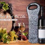 Nuovoware Sac à Vin,Sac Isotherme pour Bouteilles de Vin et d'eau, Protecteur de Bouteille de Vin pour Voyage à Domicile et Pique-nique, Oiseau Noir de la marque Nuovoware image 4 produit