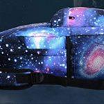 OHQ Cartable Star Sans Chargement Serrure Sac De Stylo Bleu Galaxy School Voyage RandonnéE À Dos Collection Toile Pour Adolescentes Filles Enfants Primaire A Roulette Maternelle de la marque OHQ image 3 produit