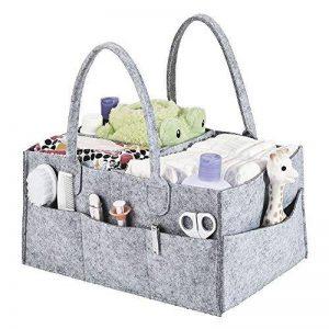 Organisateur de Caddy de couche-culotte, Caddy de couche-culotte de bébé, casier de panier de stockage de pépinière et voiture pour des couches et des lingettes de bébé, sacs de couche-culotte pour la maman, stockage de jouets pour l'enfant de la marque G image 0 produit
