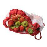 OUNONA Sacs de Courses Pliable Réutilisable Eco Lavable Sacs de Mailles pour Rangement Jouet Légumes Fruits Trois Tailles 12 Pièces de la marque OUNONA image 1 produit