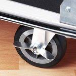 petit chariot à roulettes pliable TOP 1 image 2 produit
