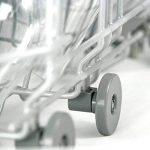 Plemont Lot de 8 roulettes universelles pour panier inférieur/supérieur de lave-vaisselle, gris, Unterkorb Rollen de la marque Plemont image 4 produit