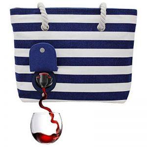 PortoVino® Sac de plage bleu et blanc de la marque PortoVino image 0 produit