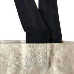 PREMYO Tote bag en coton imprimé avec Emoji Merde motif drôle. Sac shopping avec impression Émoticône. Sac de courses réutilisable en tissu et anses longues. Sac fourre-tout. Sac cabas en toile de la marque PREMYO image 3 produit