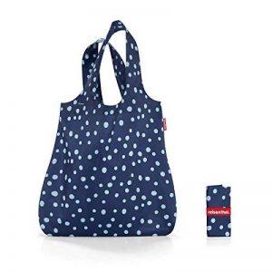 """'Reisenthel at4044Mini Maxi Shopper """"Spots Navy sac de courses polyester 43,5x 60x 7cm de la marque Reisenthel image 0 produit"""