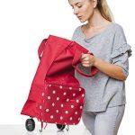 reisenthel foldabletrolley red de la marque Reisenthel image 4 produit