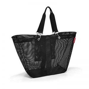 Reisenthel meshbag L Sac bandoulière, Polyester, Noir, 56 x 40 x 16 cm de la marque Reisenthel image 0 produit