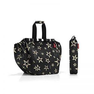 Reisenthel sac de courses Stars, polyester, noir, 38x 51cm de la marque Reisenthel image 0 produit