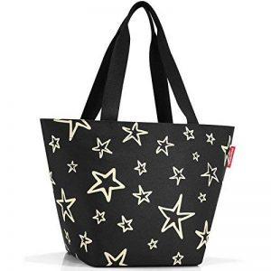 Reisenthel Sac de Shopping, M, Motif étoile, Polyester, 51x 30,5cm de la marque Reisenthel image 0 produit