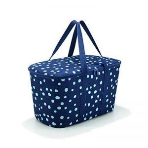 Reisenthel uh4044collerbag Spots Bleu Marine Panier de Courses Polyester 24,5x 44,5x 25cm de la marque Reisenthel image 0 produit