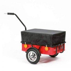 Remorque pour vélo EASY avec bâche, garantie 3 ans, Made in Germany de la marque Andersen Shopper Manufaktur image 0 produit