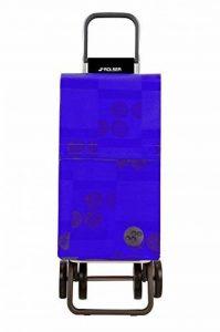Rolser Paris Logos Deux 2 Chariot de Courses 4 Roues Centimeters Bleu de la marque Rolser image 0 produit