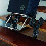 Rolser SAQ006 Chariot de courses monte-escalier à 6 roues avec housse en nylon Bleu de la marque Rolser image 4 produit