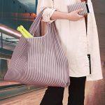 réutilisables Shopping Sacs–Sacs à provisions pliable respectueux de l'environnement pour le shopping l'organisation 2 Pack B de la marque Etercycle image 2 produit