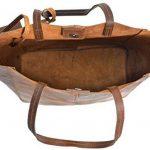 """Sac cabas - Gusti Leder studio """"Cassidy"""" sac en cuir vintage sac de shopping rétro sac à main sac en bandoulière sac de loisirs homme femme cuir de vachette marron 2H51-33-1 c de la marque Gusti image 3 produit"""