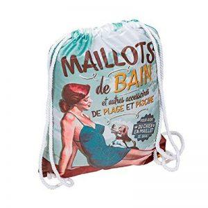 Sac cabas plage et piscna imperméable Retro Vintage polypropylène 6107807132 de la marque ONOGAL image 0 produit