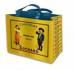 SAC CABAS SHOPPING PUBLICITE ANCIENNE CHOCOLAT SUCHARD de la marque Sacs image 0 produit