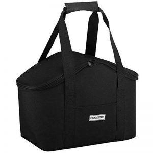 Sac isotherme Anndora - Pour les pique-niques et les courses -Couleur au choix, Polyester, Noir , 20 l de la marque anndora image 0 produit
