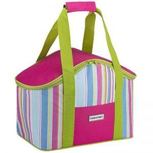 Sac isotherme Anndora - Pour les pique-niques et les courses -Couleur au choix, Polyester, Pink Limette, 20 l de la marque anndora image 0 produit