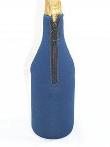 sac isotherme en Néoprène pour champagne ou vin blanc - Bleu foncé de la marque HOTcraze image 0 produit