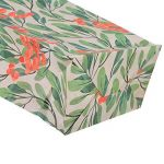 Sachets Kraft Sac Cadeau Papier d'emballage cookie avec autocollant en motif fleurs de style coréen pour mariage anniversaire de la marque Yosoo image 3 produit